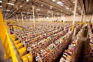 One of Amazons many warehouses