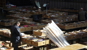 Every year St.Andrews and St.Matthews church in the UK hold a huge booksale with over 100,000 books that benefits the Christian Aid.